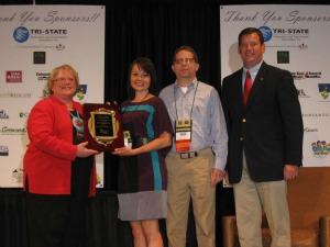 Natasha Mortenson wins national award.