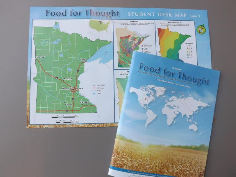 Fourth edition of the Food for Thought curricular piece