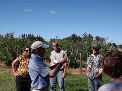 Dr. David Bredford describes apple grafting