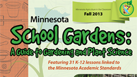 school garden guide cover page