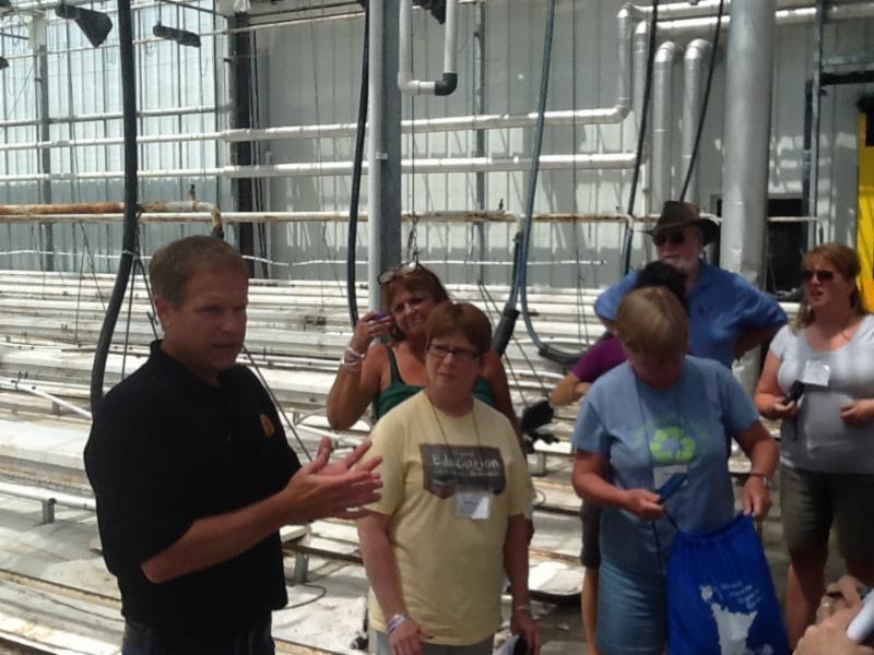 Teachers tour Bushel Boy in Owatonna Minnesota
