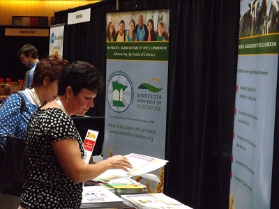 Teachers gather resources at the Ag in the Classroom Conference