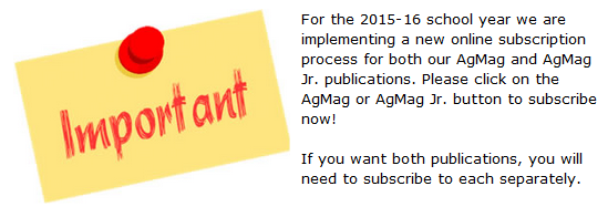 AgMag subscription information