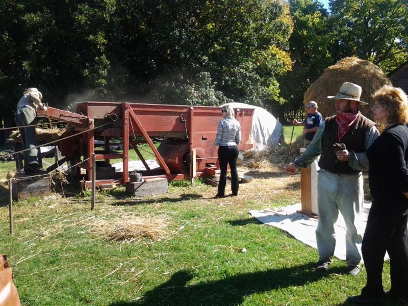 MAITC Foundation Memebers participate at Oliver Kelly Farm