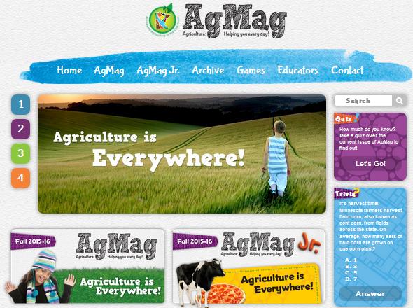 AgMag website image