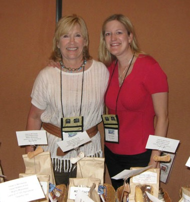 MN Ag in Classroom Foundation Board members Karolyn Zurn and Sarah Dornink