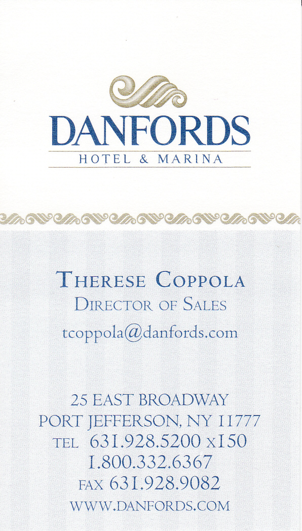 Danfords Business Card
