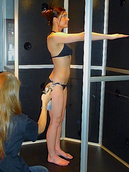 Airbrush Tan booth
