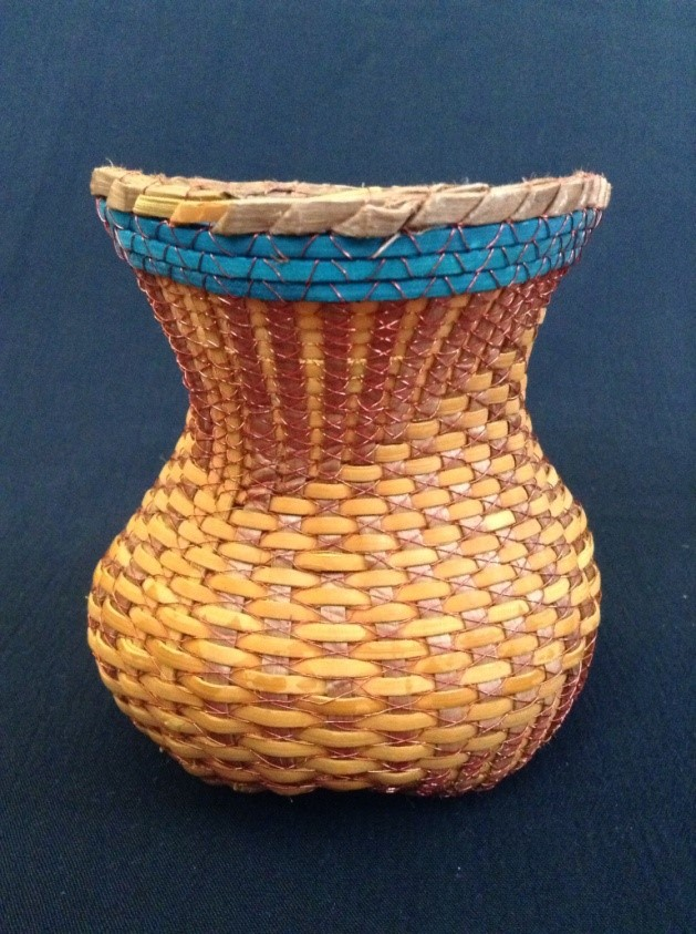 Polly Adams Sutton - Asymmetrical Cedar and Cane Basketry Workshop