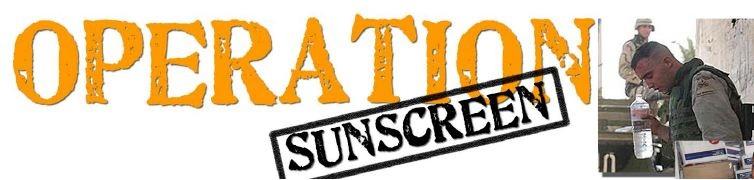 Operation Sunscreen Logo
