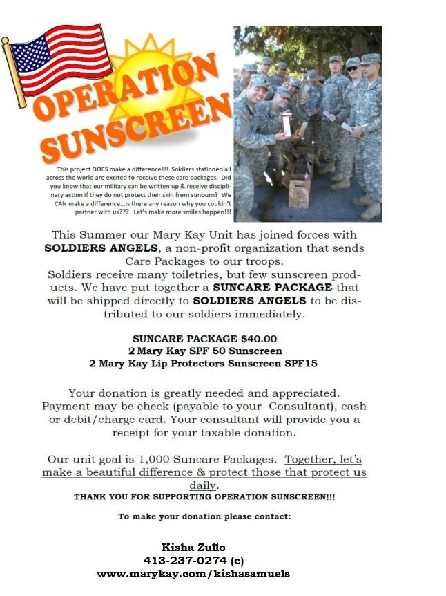 Operation Sunscreen