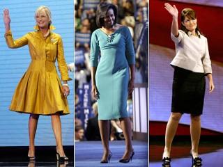 Three ladies in politics