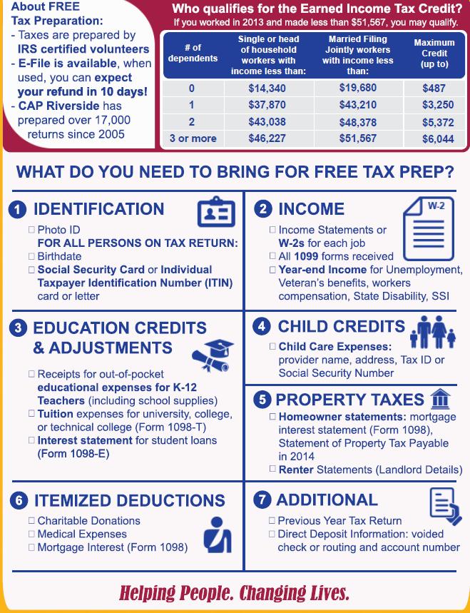 CAP Free Tax Prep