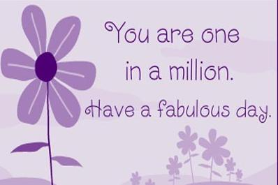 Have a Fabulous Day!