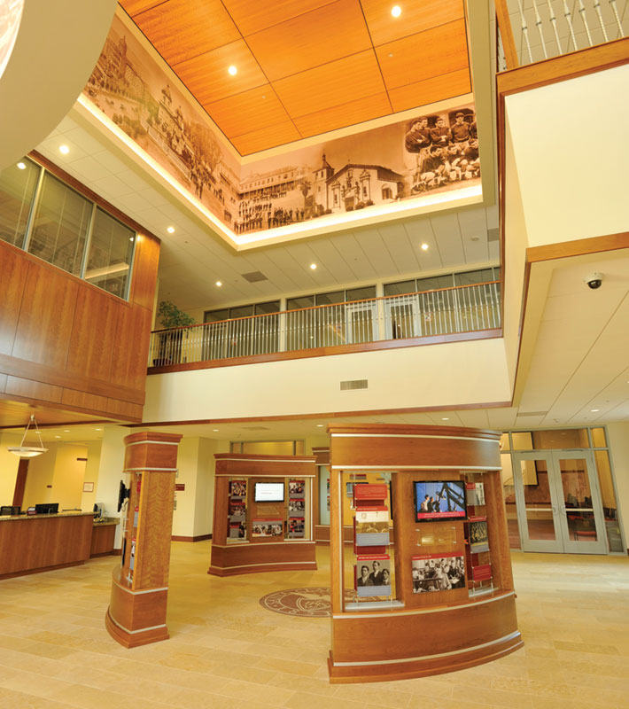 Schott Admissions Building