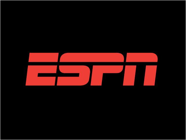 ESPN logo black