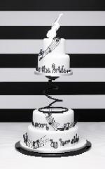 Debbie Brown Music Cake