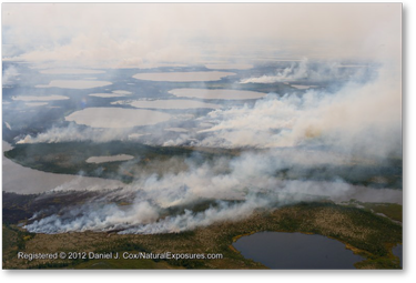 Hudson Bay Wildfires