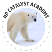 HP Polar Bear Logo