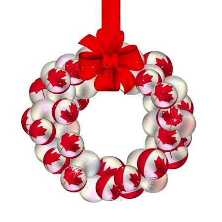 CA Wreath