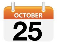 October 25 2015