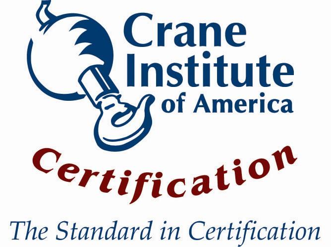 Crane Institute Certification