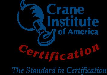 Crane Institute of America Certification