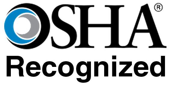 OSHA Recognized