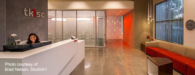 The lobby of tk1sc