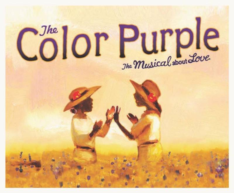 Color Purple Show Logo