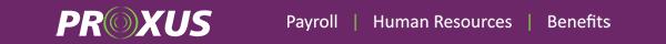 PROXUS Payroll | Human Resources | Benefits