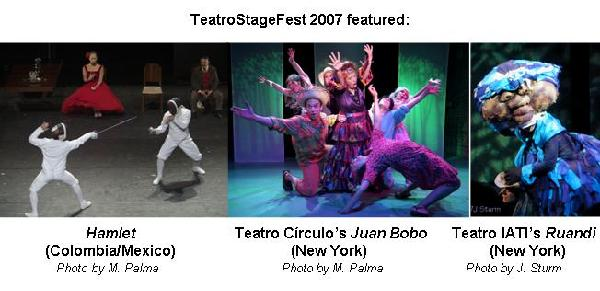 Scenes from TeatroStageFest