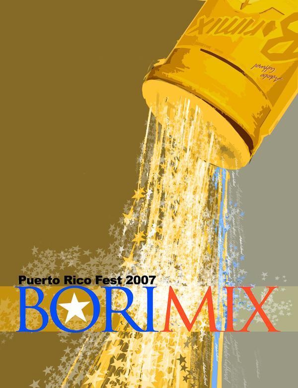Puerto Rico Fest 2007 poster