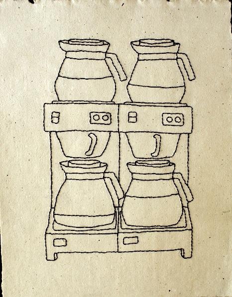 Isabel Brito-Farre- Coffee filter