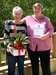 MVA award Kathy G and Monica