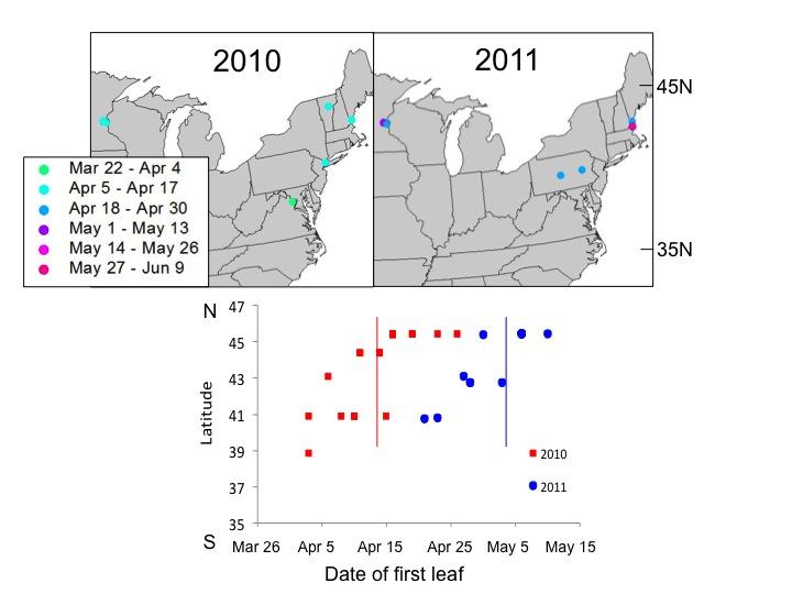 Map for winter 2012 observer newsletter