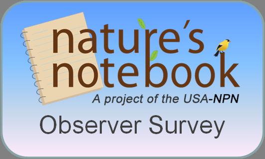 Nature's Notebook Observer Survey