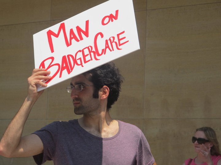 man on badgercare