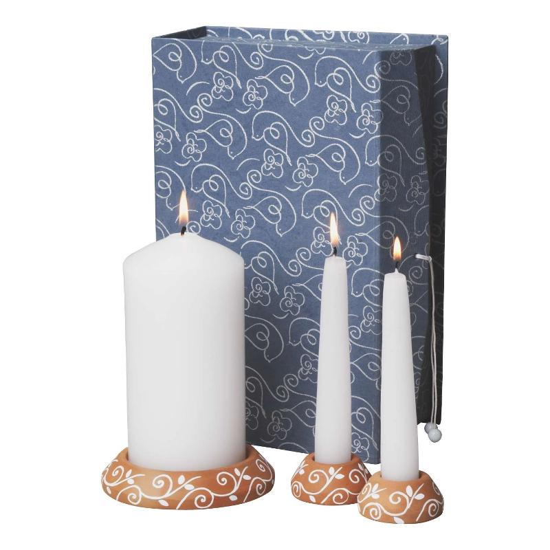 Unity candle set from India