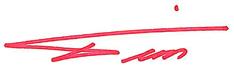Tk Signature red