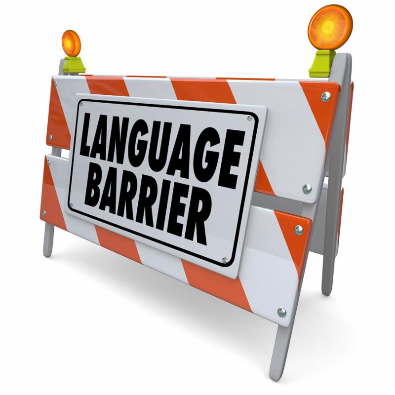 slang as a barrier Language barriers to communication january 6, 2018 by businesstopia definition of language barriers  use of jargons and slang jargons are the technical words used in communication it might be different according to different professions, specialty and technical field of a person.