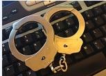 cyber crime cuffs