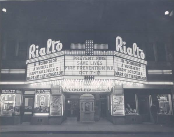 Rialto 1950s