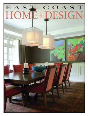 East Coast Home & Design Cover April/May 2013