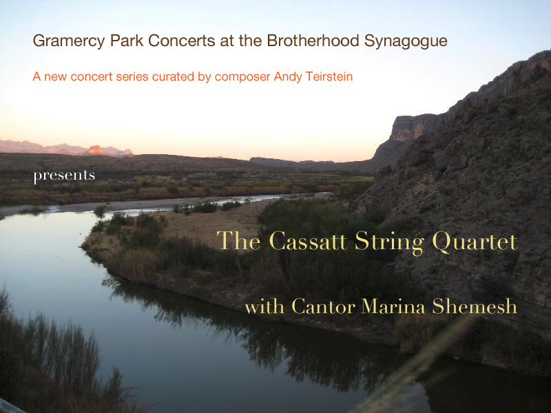 Gramercy Park Concerts presents the Cassatt Quartet