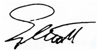 Elliott First Name Signature
