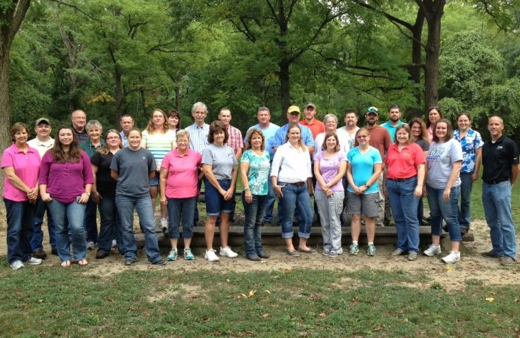 Participants of the August 18 On Farm Network training at Eagle Creek Park.