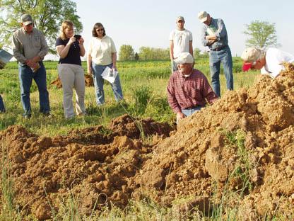 soil health demonstration