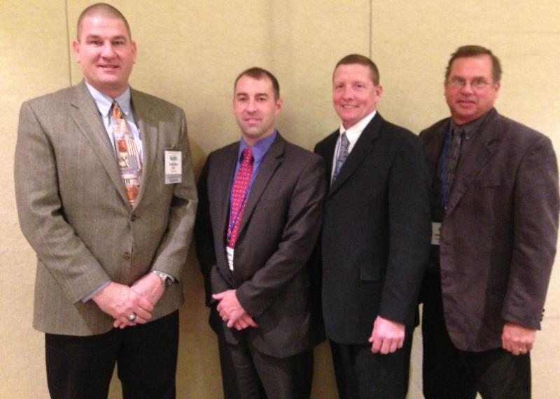 IASWCD officers and Scott Ham, SSCB