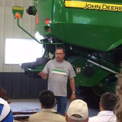 May 25 - Agro Environ 2016, Mike Starkey farm